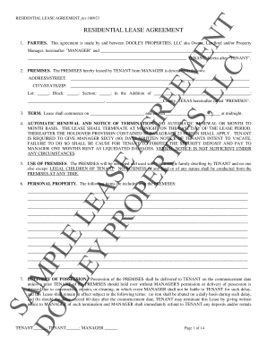 residential tenancy application forms sa