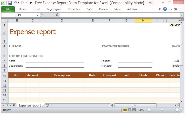 credit application form template excel