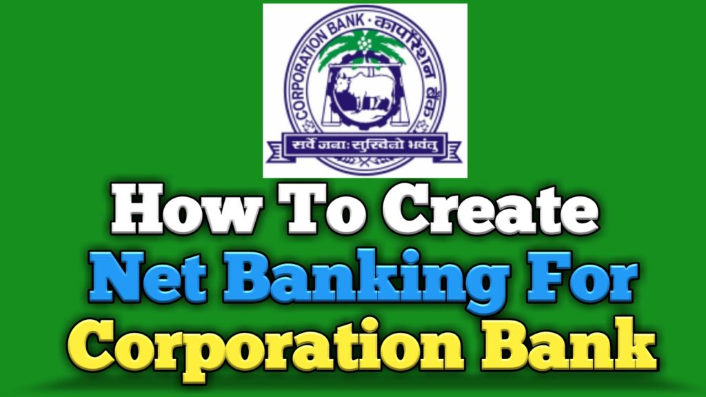 corporation bank mobile banking application form