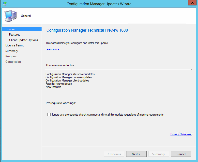 installing applications from system center configuration manager client end