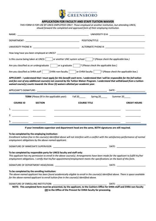 free waivers for college applications