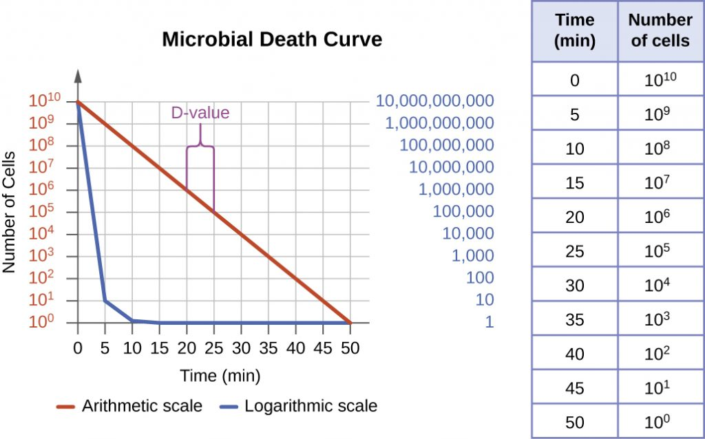 applications for bacterial cell count