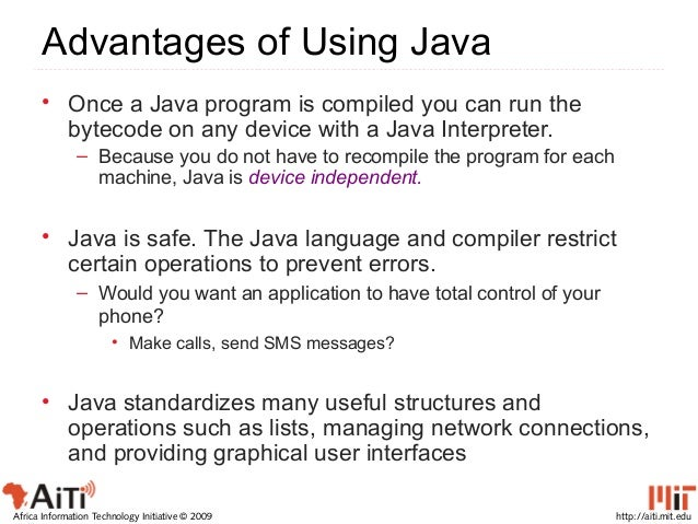 i hate having to install java to run an application