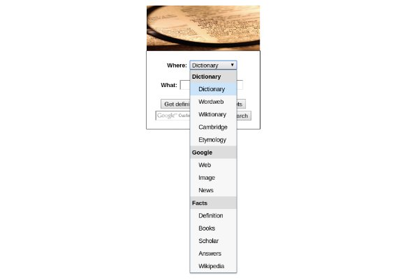 how to build a dictionary application