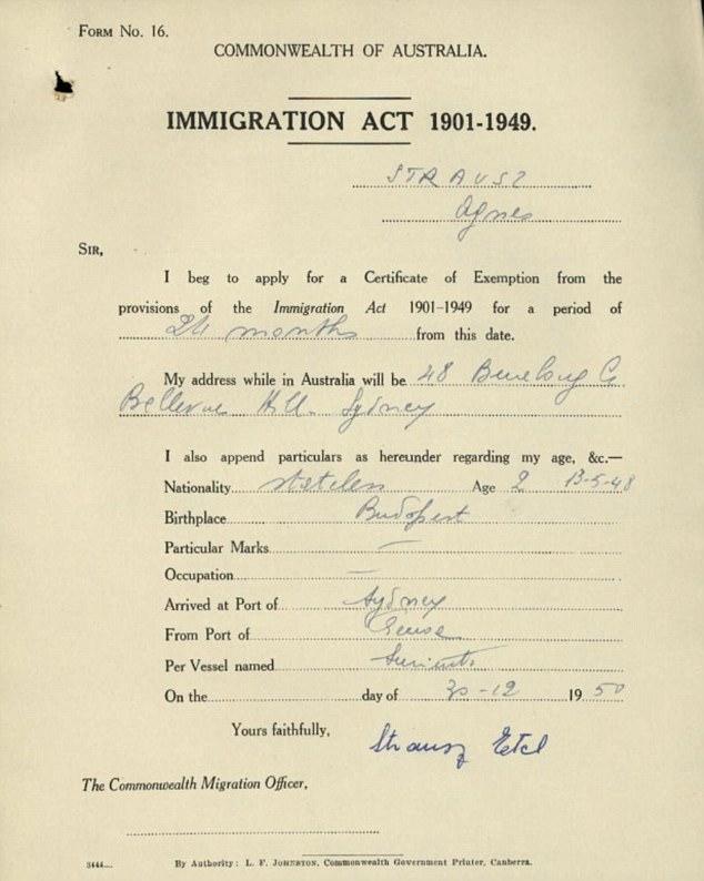dual citizenship application form australia