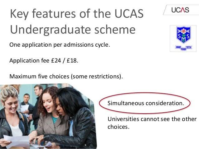 ucas application fee 2018 entry