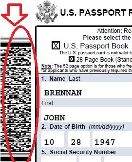 must i sign a passport application