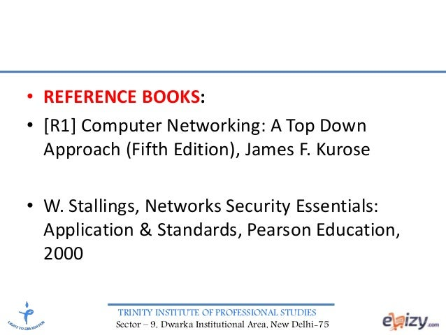 w stallings network security essentials applications and standards