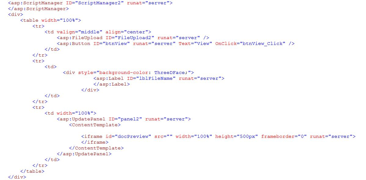 interop in a mvc application