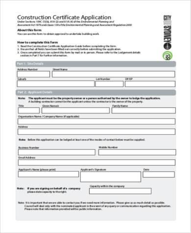 demolition licence application form nsw