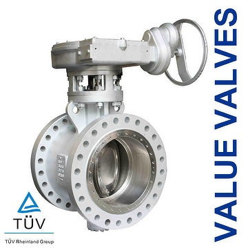 triple offset butterfly valve applications