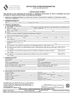 florida rental application fee laws