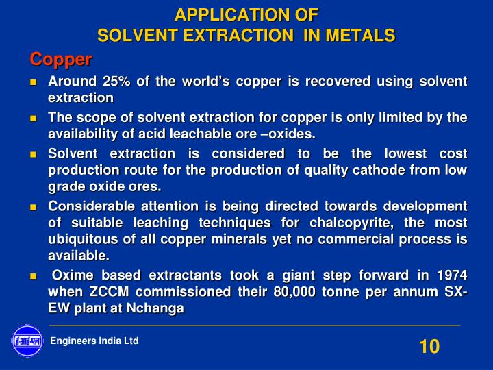 industrial application of non ferrous alloys