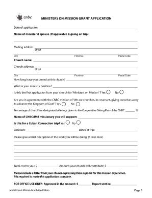 carers trust grant application form