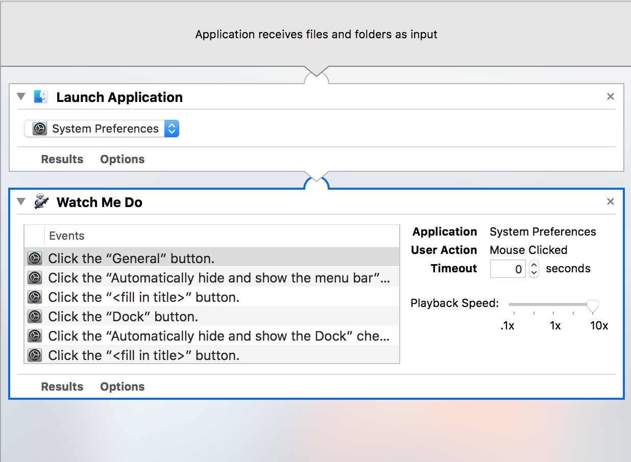 save as an application automator