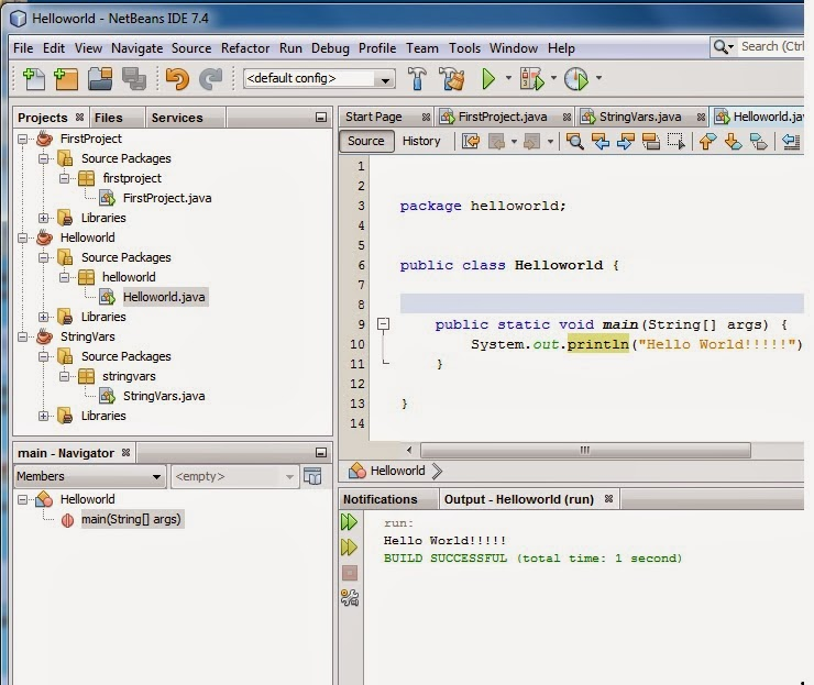 how to use log4j in java application