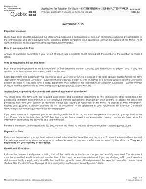sponsor application for spouse de factor