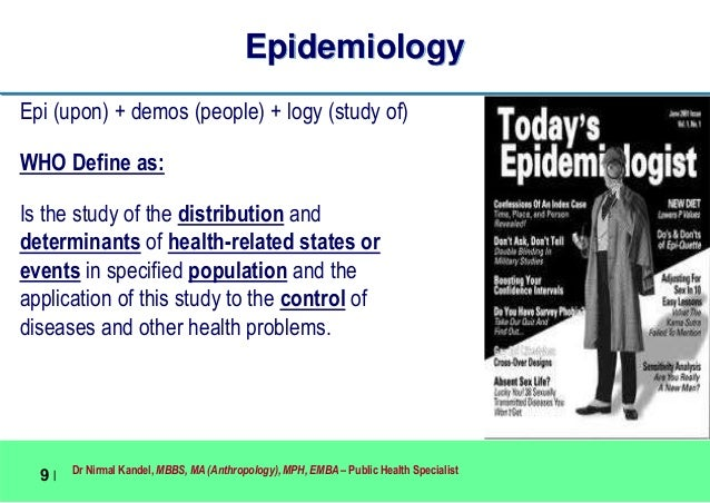 application of epidemiology in public health