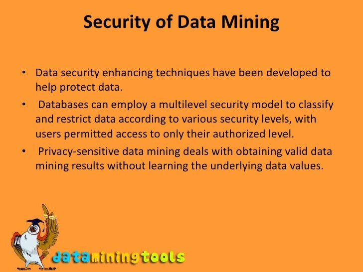data mining techniques and their application