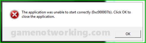 windows start application error 0xc0000022