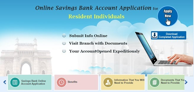 boi online application for internet banking
