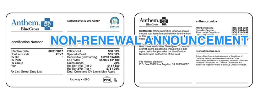 anthem blue cross provider application
