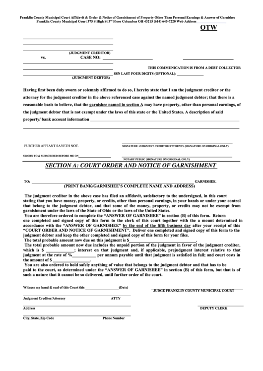 local court application notice form