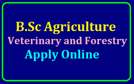 online application form for bsc agriculture