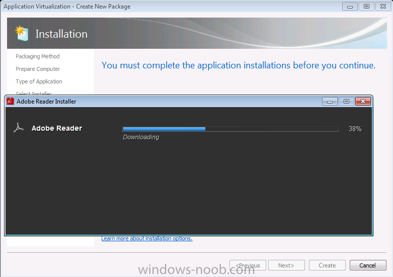 adobe application manager windows vista