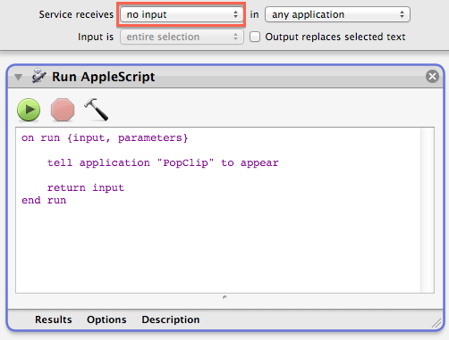 applescript tell application to playpause