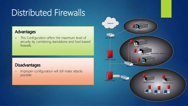 application firewall advantages and disadvantages