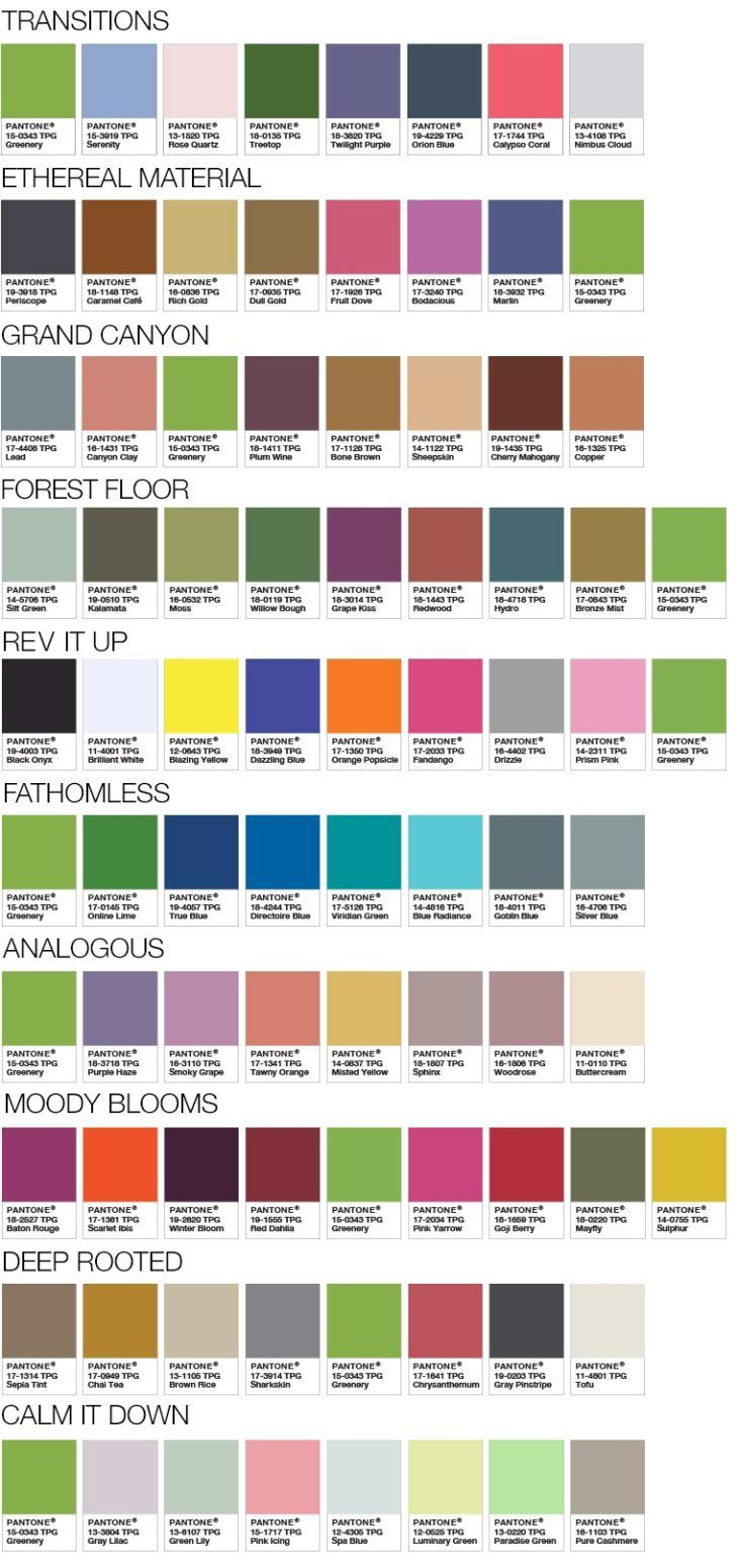 applications for pantone colour of the year