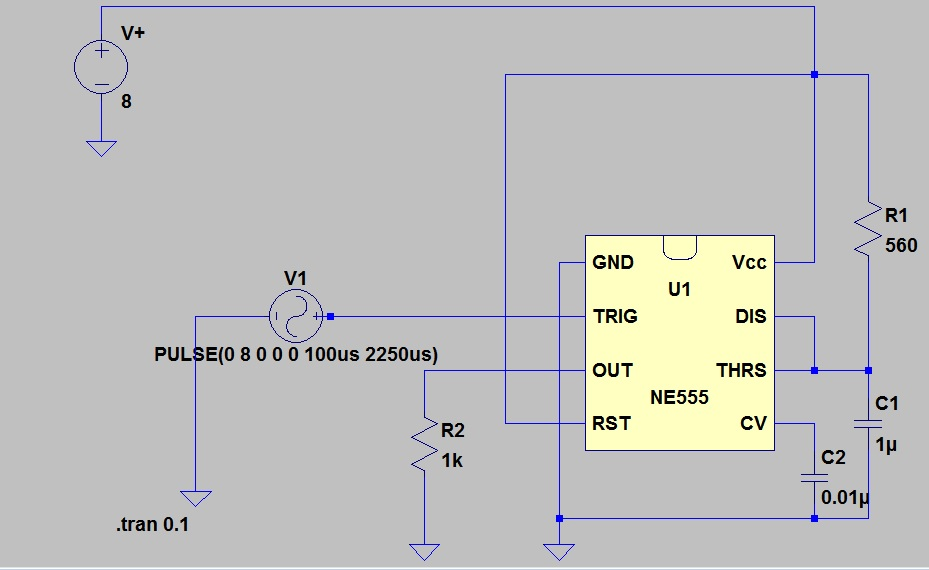 applications of bistable multivibrator using 555 timer