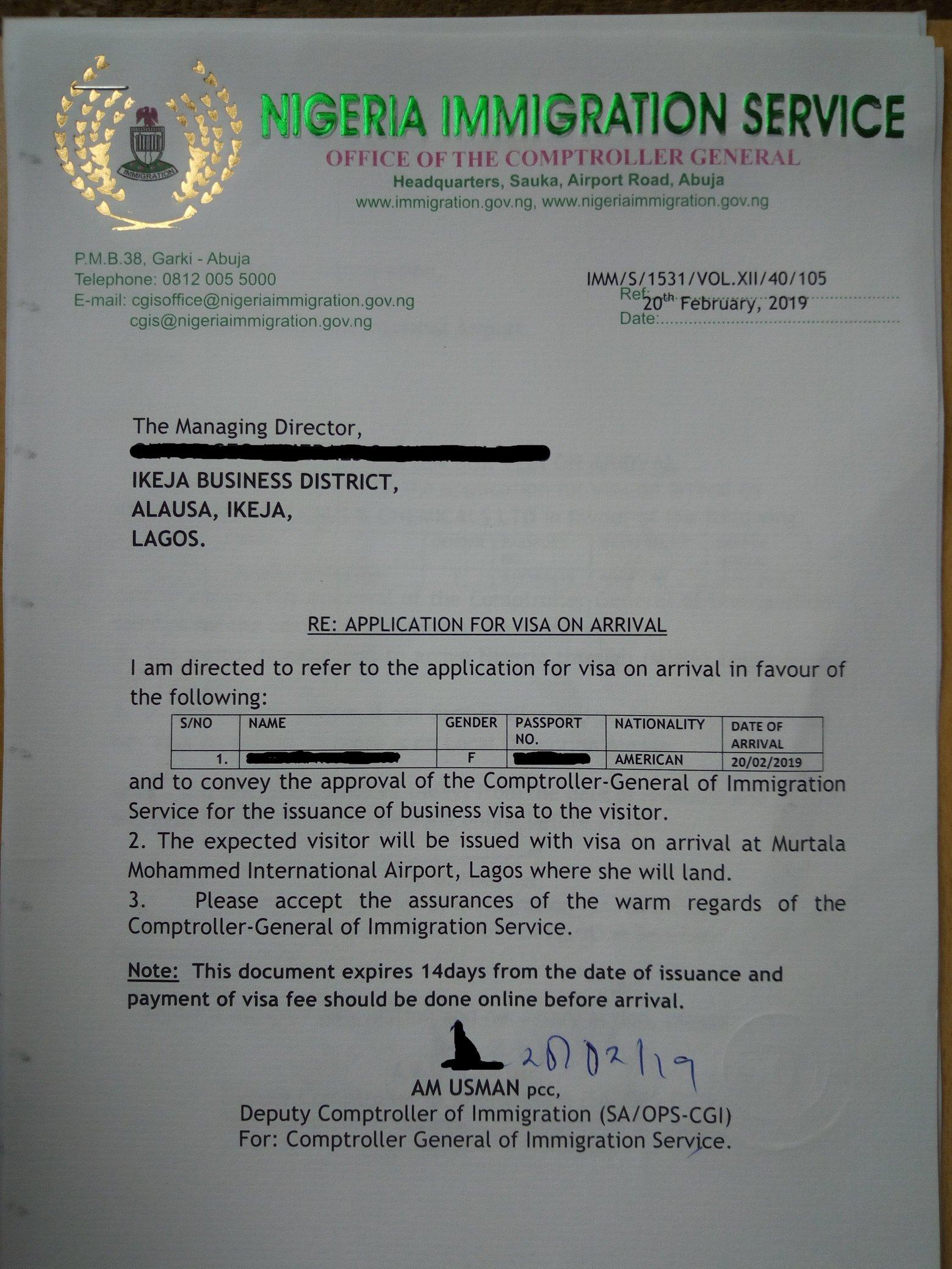 citizen application error saying cannot identify visa