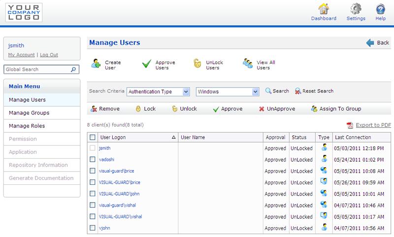 user management asp net web application