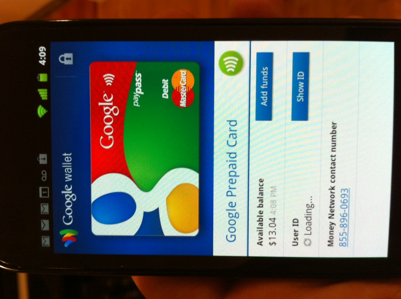 how to block lost credit card throught mobile application