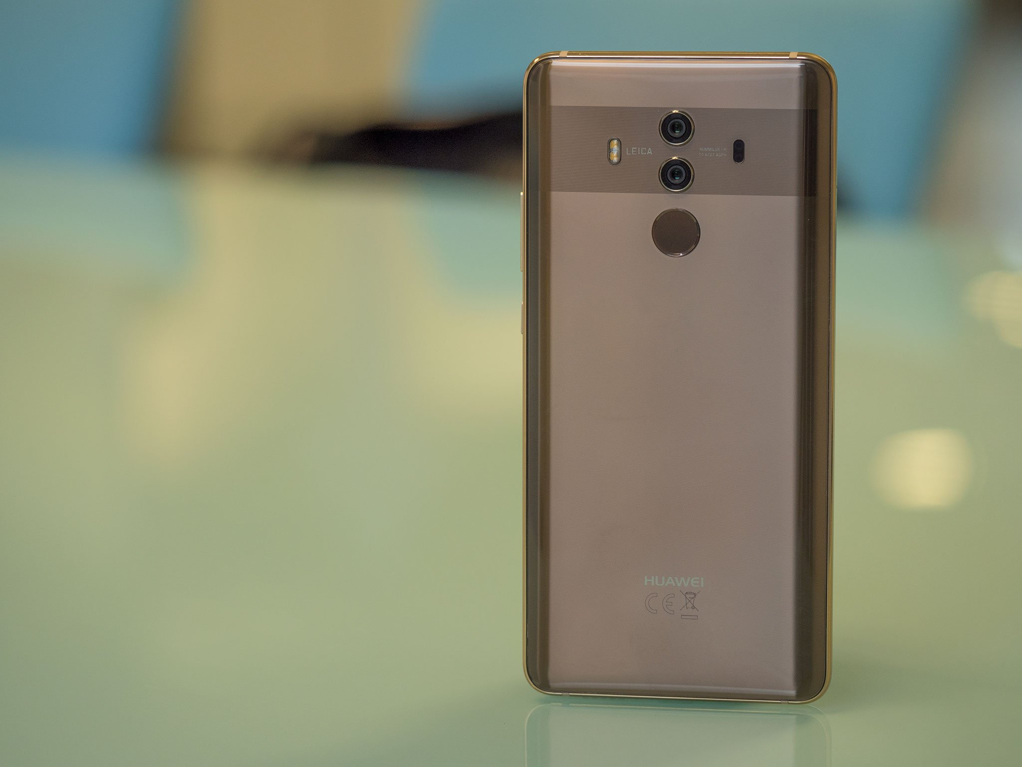 how to find active applications icon on huawei mate 8