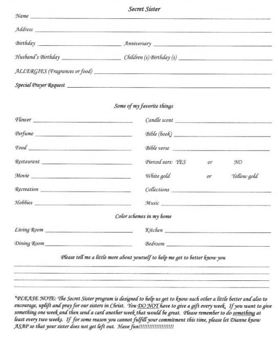 church of christ application form