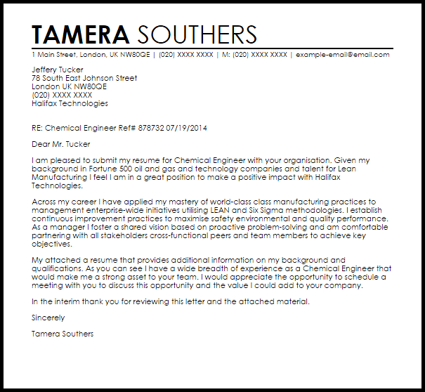cover letter for job application that done company research