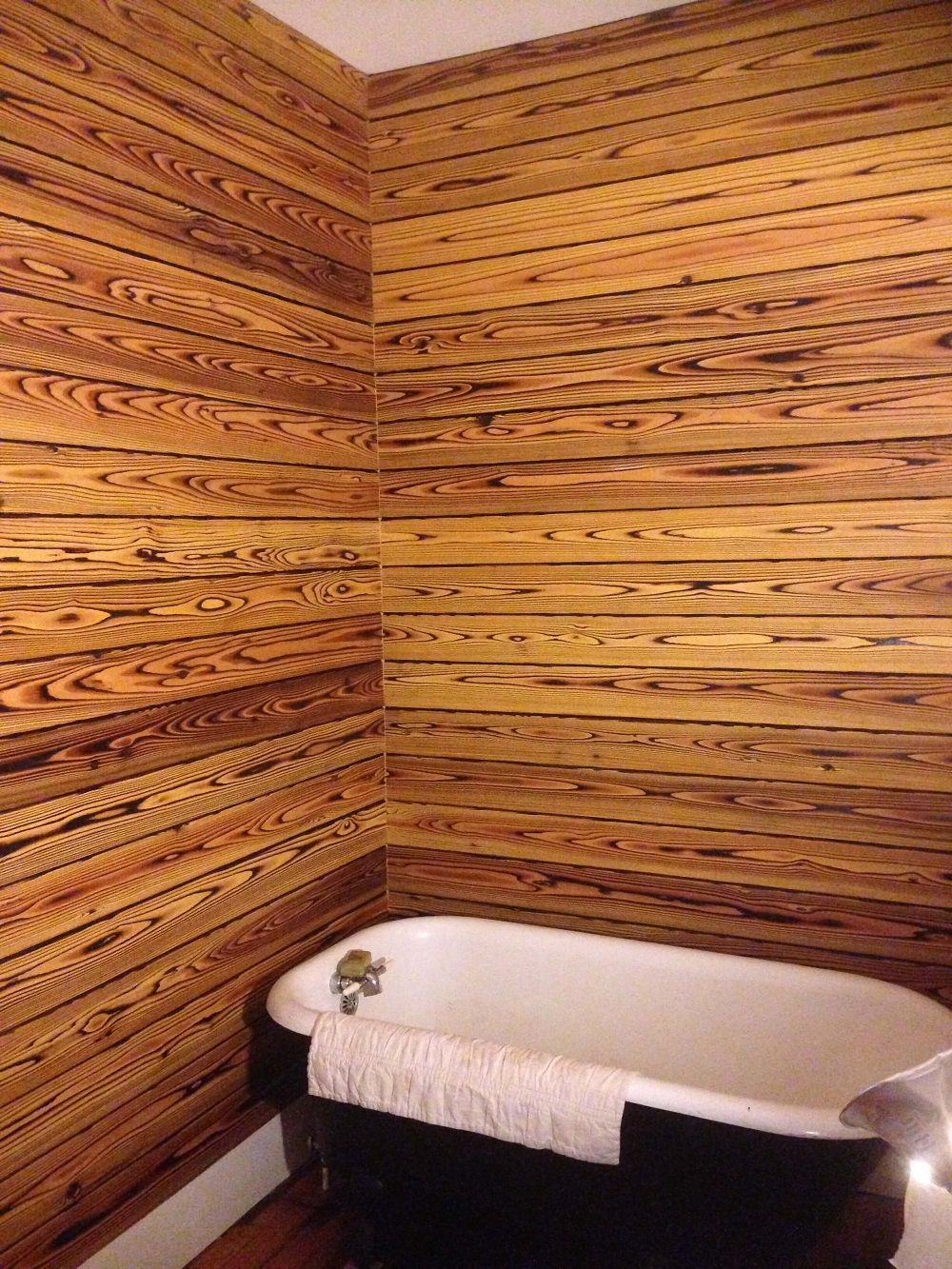 application of timber in interiors