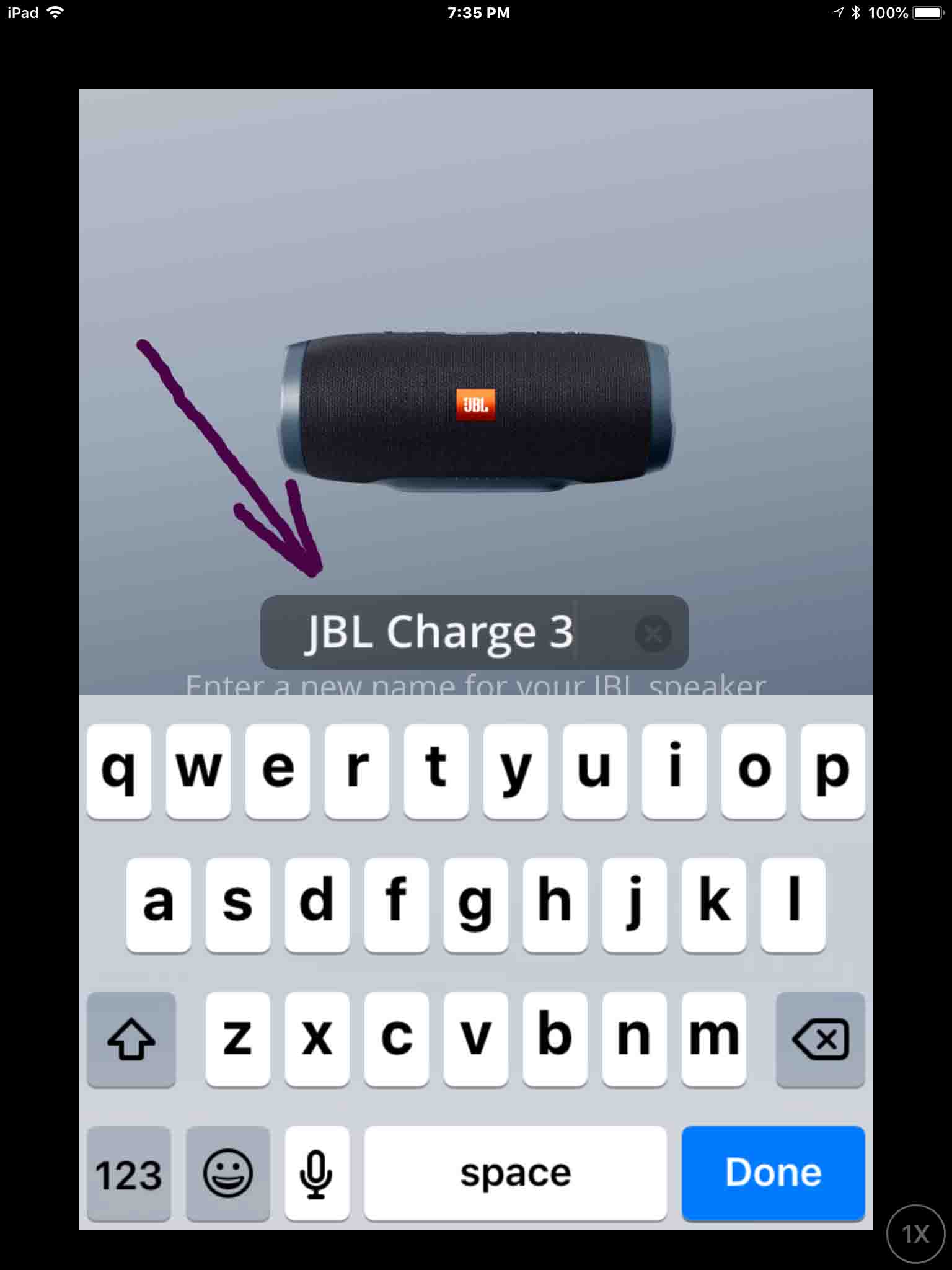 jbl application for charge 3