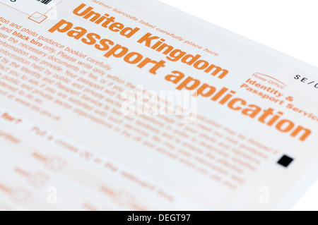 current uk passport application form