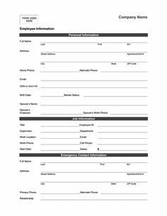 free template for hire application form