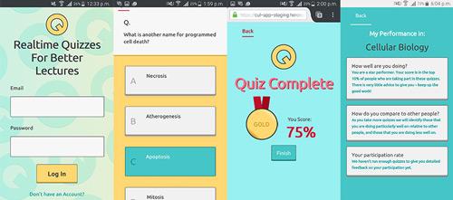 web application development quiz and questions