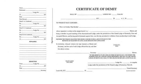 certificate of masonic studies application