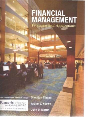 financial management principles and applications 7th edition secondhand