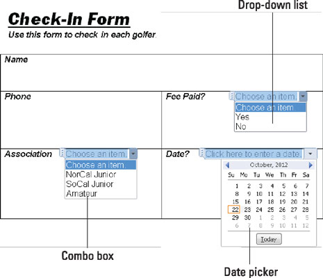 how to make application form in ms word
