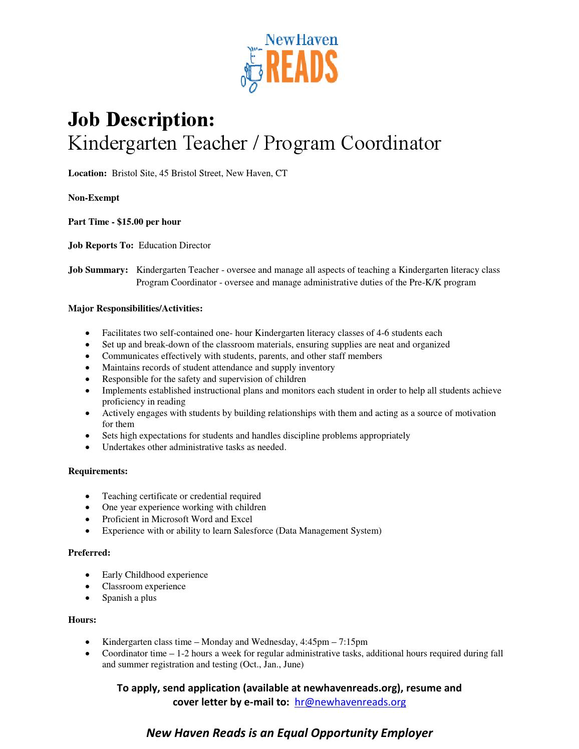 program on job application for education