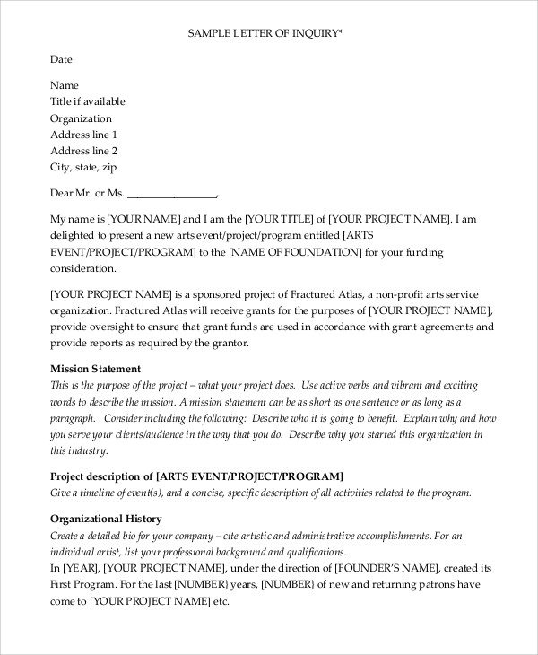 research project grant application sample