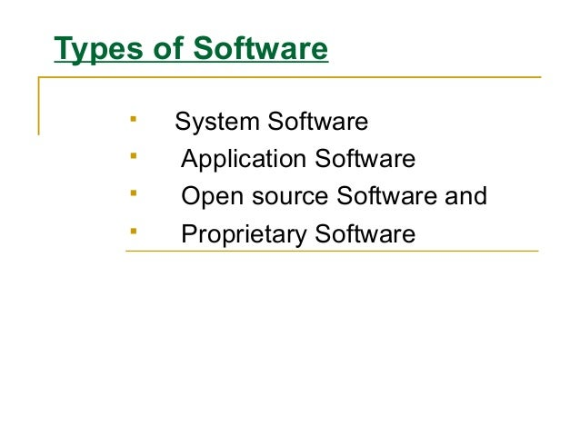 the operating system is a type of application software